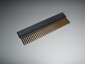67 Pcs 2 54mm 2x32 Pin 64 Pin Female Double Row Straight Long Pin Header Pc104