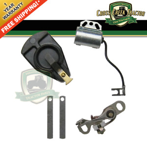 Atk7ffr Ignition Tune Up Kit Points Condenser Rotor Fits Ford 8n Naa 600 700