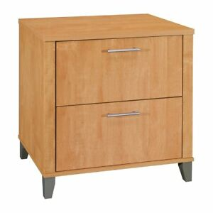 Bush Furniture Somerset Lateral File Cabinet Wc81480 Maple Cross Modern