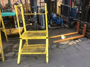 Industrial Stairs Very Good Condition Solid Stairs