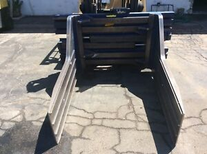 Rightline Bale Clamp Attachment Class 3 Model Lbm114 Fits Class 3 Forklifts