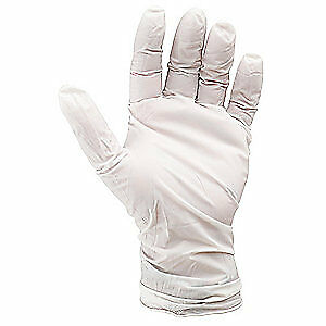 Showa Cleanroom Gloves nitrile size L pk100 C9905pfl White