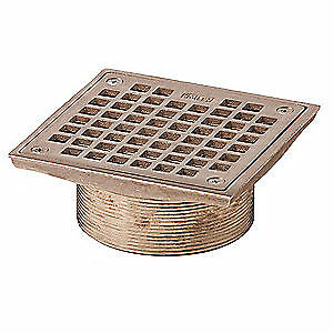 Jay R Smith Mfg Co Floor Drain Strainer square 6in B06nb