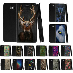For ZTE Majesty Pro Leather Flip Wallet Case Stand Cover w Card Slots Holder