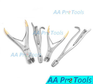 Aa Pro 4 Pin Wire Cutter T c Jaw Orthopedic Surgical Pliers Veterinary Tools