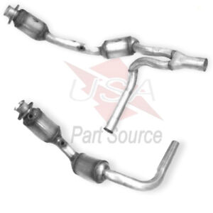 Catalytic Converter Y Pipe For Jeep Wrangler 3 8l Engine 2007 2008 2009