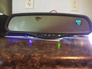 New Gentex Autodim Mirror With Compass Temp And Map Lights 50 Genk31
