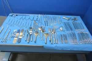 Ssi Ultra Lot Of Instruments specialty Surgical Instruments