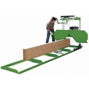 Saw Mill With 301cc Gas Engine Heavy Duty Portable Saw Mill To Cut Logs And Flat