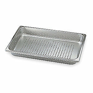 Vollrath Stainless Steel Perforated Pan half size 30243