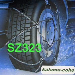 Scc Shur Grip Cable Snow Z Chains Sz323 95 65r14 195 70r13 200 60r365 205 40r17