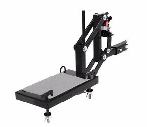 A Motorcycle Sports Dirt Bike Hitch Carrier Hydraulic Jack Hauler