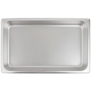 Stainless Steel Steam Table Hotel Pan 2 1 2 Deep 20 X 12 Full Size