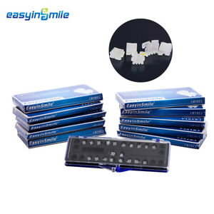 10packs Easyinsmile Dental Orthodontic Brackets Ceramic Braces Mbt roth Slot 022