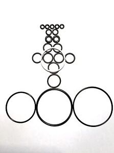10 Complete O ring Kits Fit Graco Fusion Ap Air Purge 246355