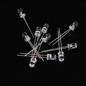 10pcs 5mm Infrared Ir Led Light Emitting Diode 3 6cm For Monitor Remote