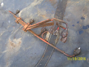 Vintage Ji Case 400 Diesel Tractor fuel Injection Line Set 1955