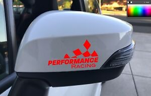 Performance Racing Decal Race Sticker Vintage Hot Rod Car Decals Automotive Red
