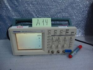 Tektronix Tds 220 2 channel Digital Real time Oscilloscope 100mhz 1gs s