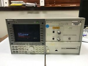 Hp 70820a Dc To 40 Ghz Microwave Transition Analyzer Hp 70004a Hp 70310 60016