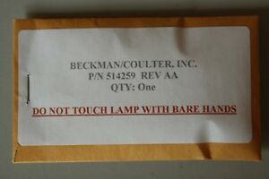 Beckman Coulter 514259 Tungsten Lamp For Spectrometer Spectrophotometer