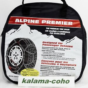 Chains 1550 215 75r15 215 65r16 225 55r16 235 60r15 Alpine Premier Tire Snow