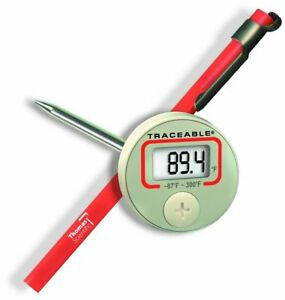 Thomas Traceable Digital Thermometer 4 3 4 Stem 67 To 300 Degree F