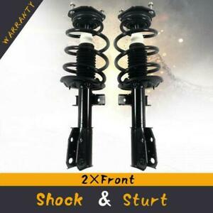 For 2007 12 Gmc Acadia Quick Complete Front Struts Coil Springs W mounts Pair
