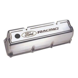 Oem New 69 70 Ford Racing Boss 302 351c 351m 400 Polished Aluminum Valve Cover