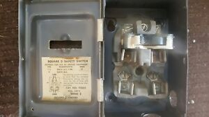 Square D Safety Switch 30 Amp