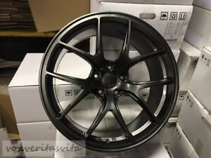 20 Wheels Rims Vortex Style Gunmetal Grey Fits Bmw E46 E90 E92 E93 F30 F32 F33