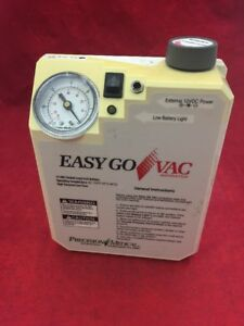 Precision Medical Easy Go Vac Aspirator Pm65 Type 2 Aspirator Only See Listing