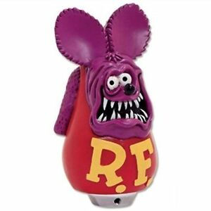 Rat Fink Purple Shift Knob Custom Figure Hot Rod Gear Shifter Handle Lever Moon