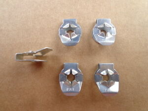5 Old School Nos Pal Trunk Rod Clips Made In U S A Long Ago 60 70 S Mopar Xo