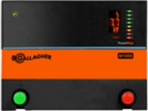 Gallagher M1000 10 0 Joule Electric Fence Charger