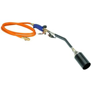 Professional Roofer Propane Torch With Push Button Igniter
