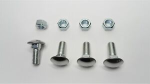 6 Stainless Steel Bumper Bolts Nuts Fits Mopar Cuda Charger Gtx Plymouth Dodge