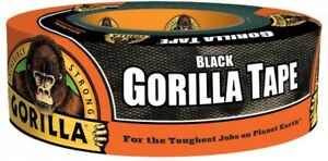 Gorilla Duct Tape 1 88 In X 35 Yds Rugged Tough Adhesive Black 10 pack