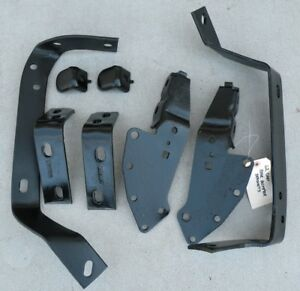 Cadillac Cad Rear Back Bumper Mounting Brackets Support Oem 62 1962
