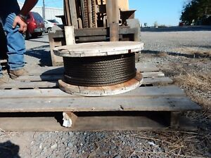 Wire Rope Steel Core 1 2 Inch Thick