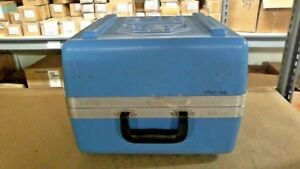 Allen Bradley Slc Blue Storage Case For 1747 demo 3 Training Kit Case Only