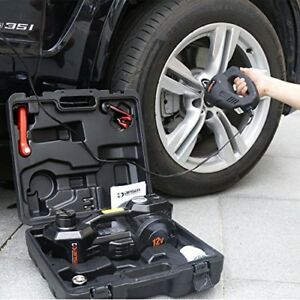 12v Dc 1 Ton Electric Hydraulic Floor Jack Set With Impact Wrench And Pump Fo