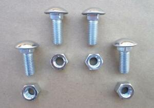 Old School Stainless Steel Bumper Bolts Nuts Ford 1950 S Up 2425zx
