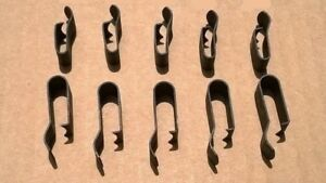 10 Old School Wire Loom Clips 1930 1950 S Ford Mercury Gm Cars Gmc Truck Wagon
