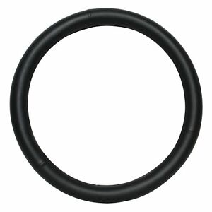 Large Steering Wheel Cover 15in Steering Wheel Cover Black Synthetic Leather