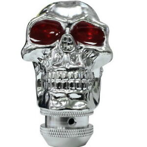 Universal Shift Knob Manual Weighted Cool Auto Gear Shift Knobs Skull