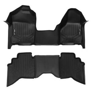 Maxliner 02 08 Dodge Ram 1500 Ram 03 09 2500 3500 Quad Cab Floor Mats 1pc Black