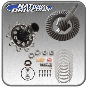 Ring And Pinion Bearing Install Kit Full Spool Fits Ford 9 4 11 31 Spl