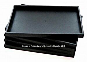 Wholesale 60 Black Stackable Utility Display Trays 14 3 4 X 8 1 4 X 1 1 2