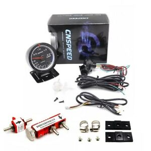 2 5 Digital Led Turbo Boost Gauge 30psi Manual Adjustable Boost Controller Kit